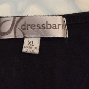 Dress Barn Tops - Graphic sleeveless T-shirt